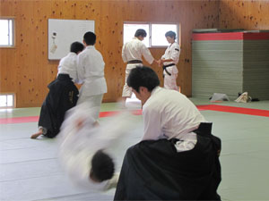 クラブ見学13(バレーボール部)