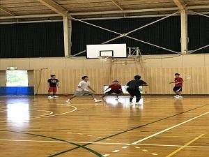 クラブ見学6(バスケットボール部)