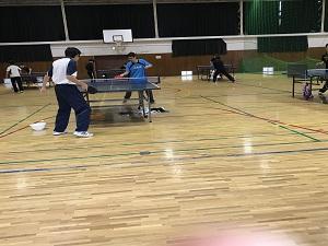 クラブ見学10(卓球部)