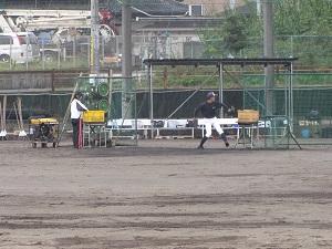 クラブ見学1(野球部)