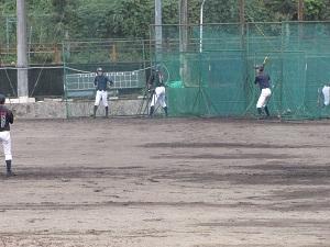 クラブ見学3(野球部)