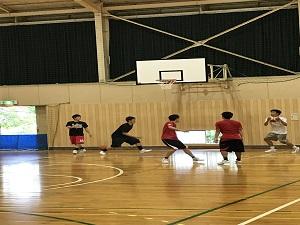 クラブ見学4(バスケットボール部)