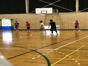 クラブ見学5(バスケットボール部)