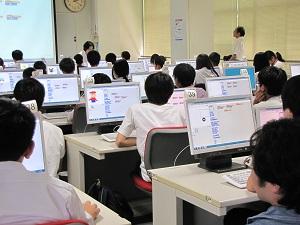 体験入学 情報工学科2