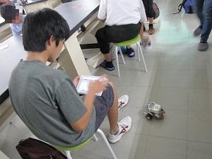 体験入学 電子制御工学科5