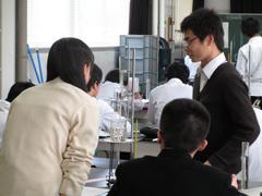 物理教員による授業