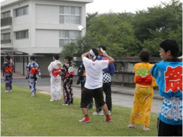 寮祭(盆踊り)