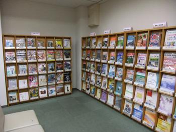 奈良高専図書館雑誌コーナー